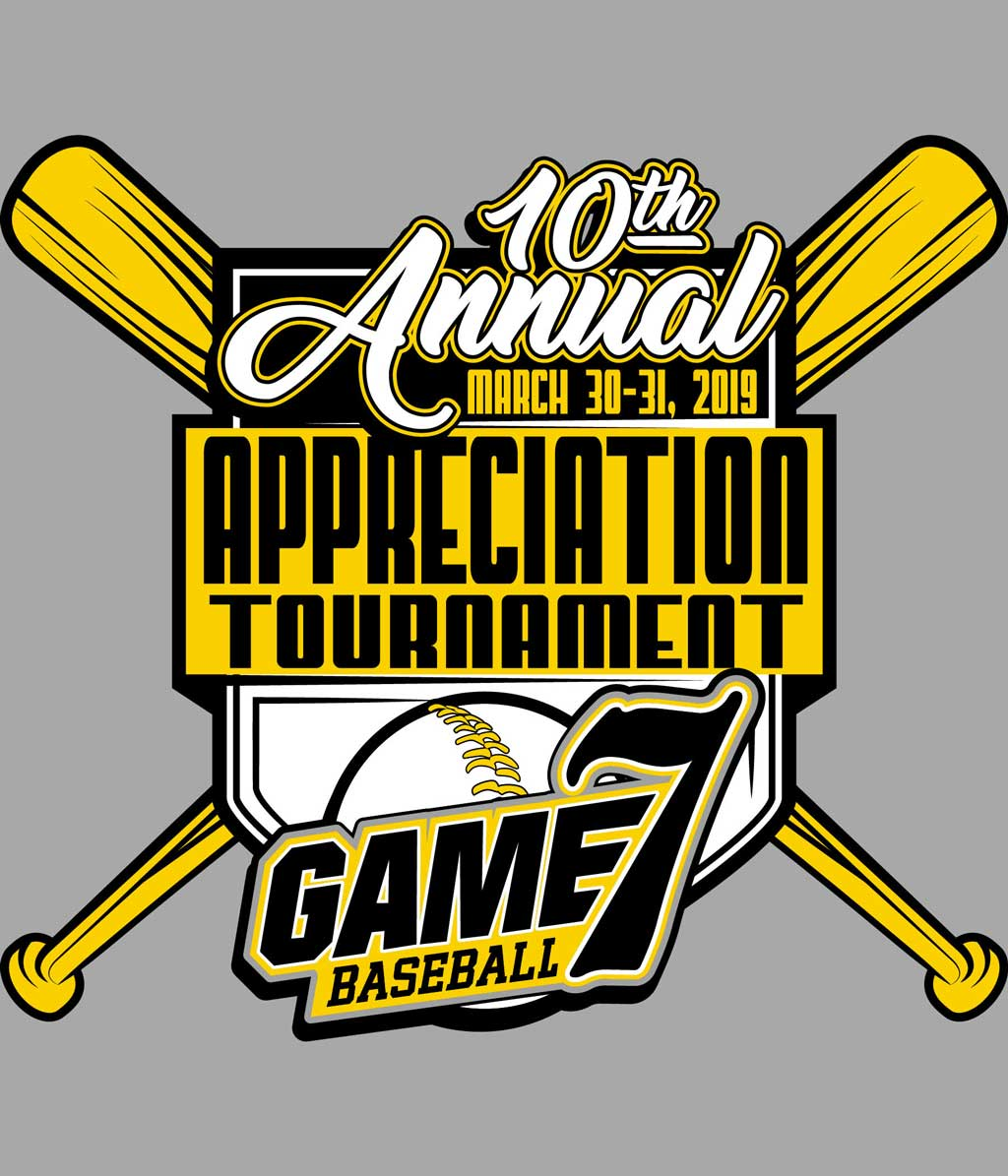 TN Game 7 10th Annual Appreciation Tournament Logo
