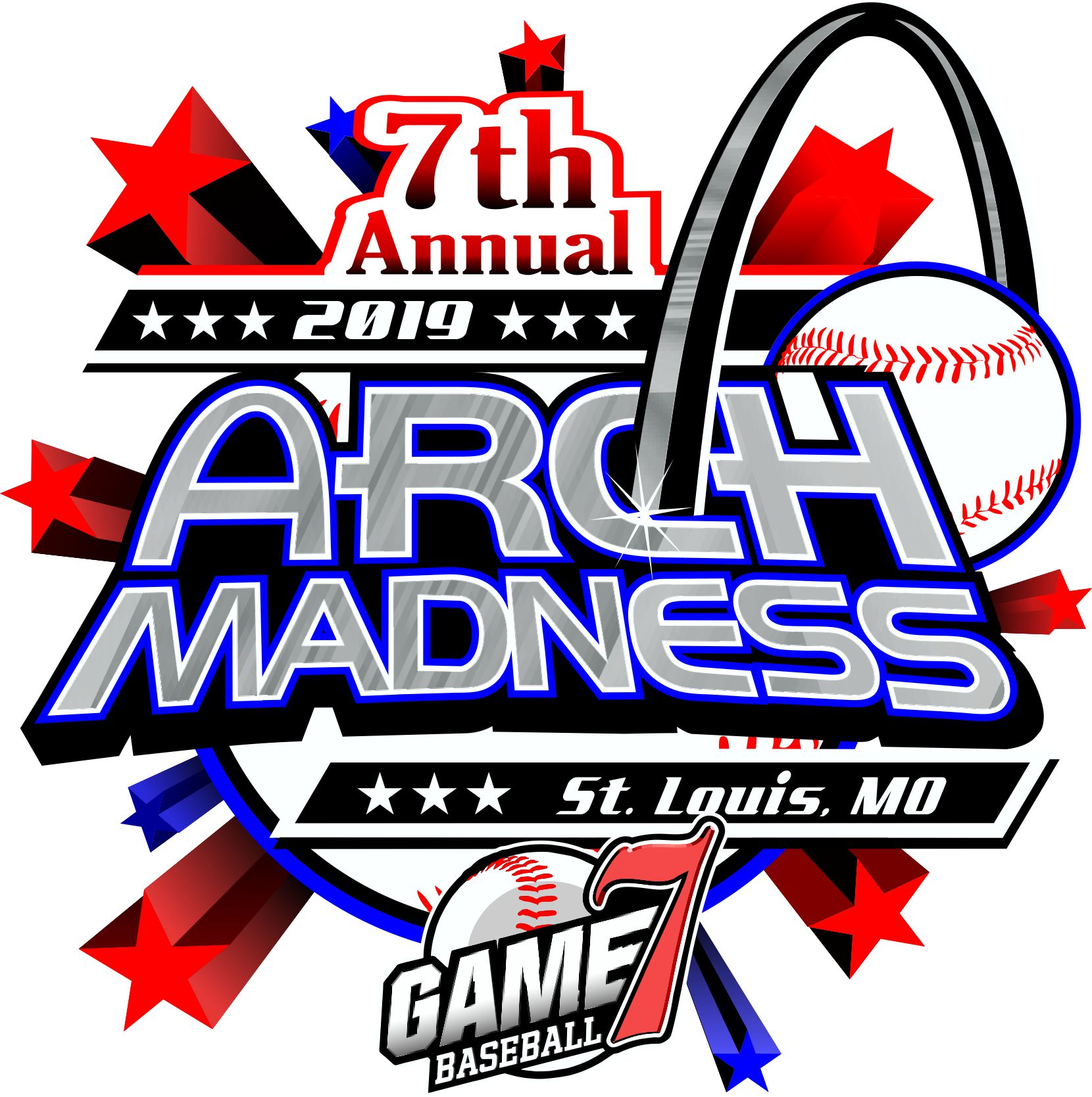 7th Annual Arch Madness Logo